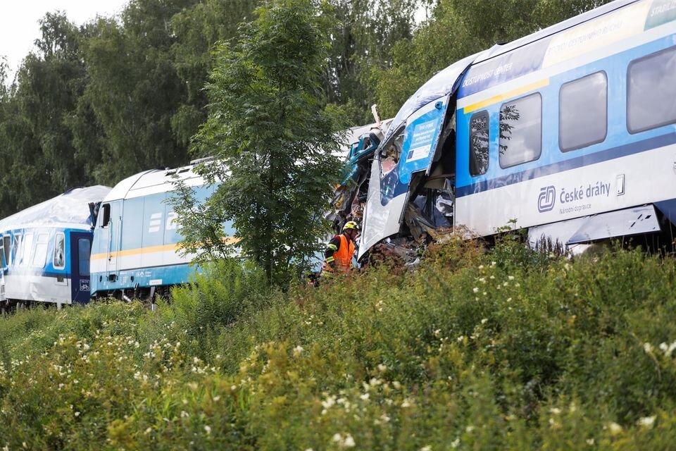 وقوع سانحه ریلی مرگبار در جمهوری چک