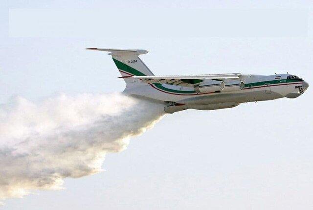 چرا هواپیمای آبپاش کشور، به جای ایران در ترکیه بود؟