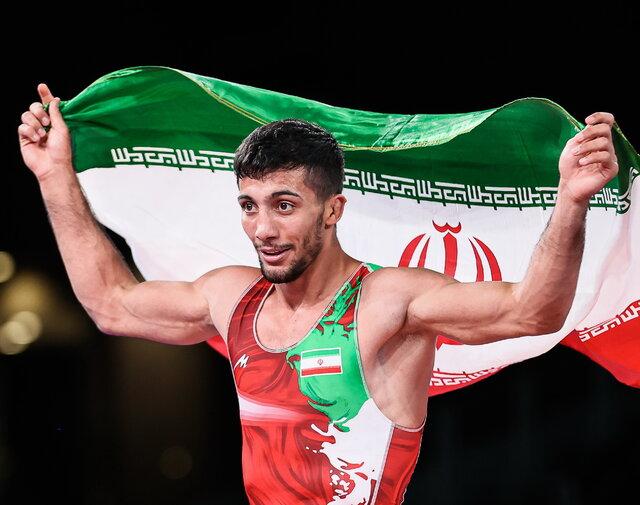 صعود ۲۲ پلهای ایران در جدول مدالهای المپیک بعد از طلای گرایی و نقره داودی