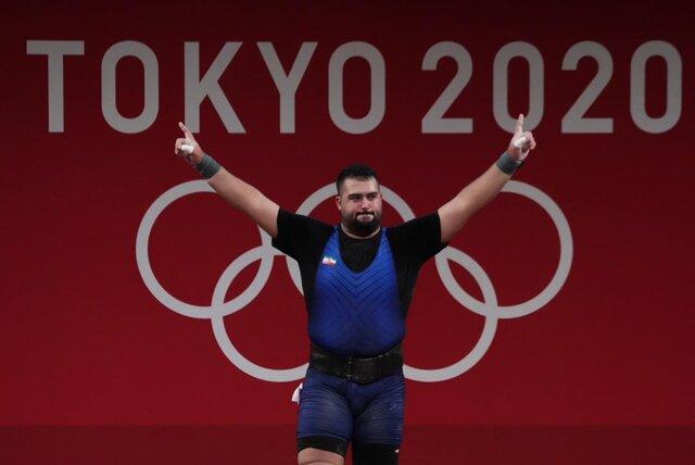 علی داودی نایب قهرمان المپیک توکیو شد+ فیلم