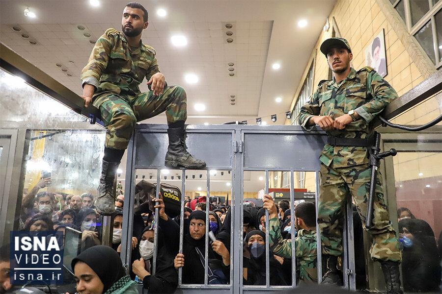ویدئو / وضعیت مرز شلمچه در آستانه اربعین
